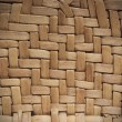 Stock Photo: Interlaced straw texture