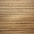 Stock Photo: Zebrano wood surface - horizontal lines