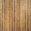 Stock Photo: Zebrano wood surface - vertical lines
