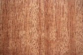 Tiama wood surface - vertical lines — Stock Photo