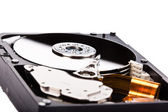 HDD reflections — Stock Photo