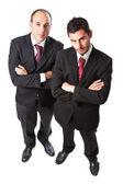 Two aggressive Businessman — Stock Photo