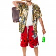Relaxed tourist — Stock Photo #20319985