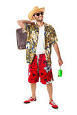 Relaxed tourist — Stock Photo