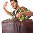 I'm leaving! — Stock Photo