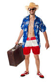 Stereotypical tourist — Stock Photo