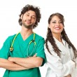 Stock Photo: Handsome physicians