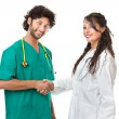 Stock Photo: Medical job