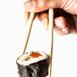 Sushi and chopsticks — Foto Stock