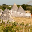 Ancient trulli — Stock Photo
