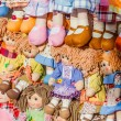 Rag dolls — Stockfoto