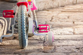 Kid's bike — Stock Photo