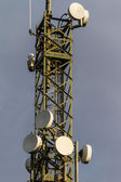 Microwave Tower detail — Stock Photo