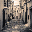 Ostuni alley — Stock Photo