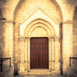 Church portal — Stock Photo