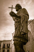 Statue of a Roman Emperor — Stock Photo