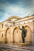 Statue in Barletta — Stock Photo