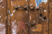 Neglected door — Foto Stock