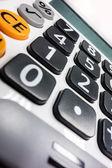 Calculator detail — Stock Photo