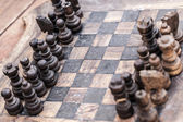 Old chess — Stock Photo