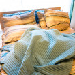 Stock Photo: Cozy bed
