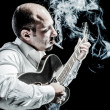 Smokin' Jazz — Stock Photo