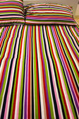 Striped bed — Stock Photo