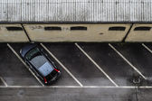 Parking alone — Stock Photo
