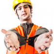 Arrested foreman — Stock Photo