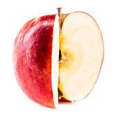 Inside the apple — Stock Photo
