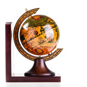 Wooden globe — Stock Photo