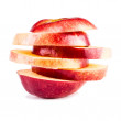 Sliced apple — Stock Photo