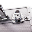 Stock Photo: Luggage security