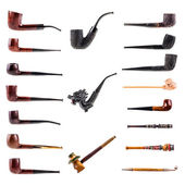 Pipes collection — Stock Photo
