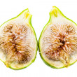 Sliced fig — Stock Photo