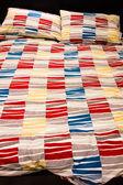Cozy bed — Stock Photo
