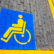 Stock Photo: Disabled only