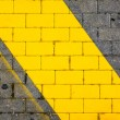 Yellow stripe — Stock Photo