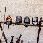 Helmets and swords — Stock Photo #39129871