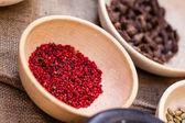 Röd krydda — Stockfoto