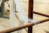 Medieval loom — Stock Photo