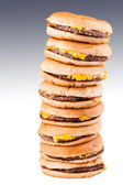 Tall burgers — Stock Photo