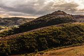 Dreamy mountain range — Stock Photo