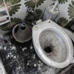 banheiro sujo — Foto Stock #45773497
