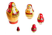 Matryoshka doll set — Stock Photo