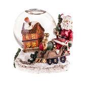 Cristmas Snow globe — Stock Photo
