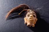 Shrunken head — Stock Photo