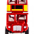 London bus front — Stock Photo #46726205