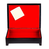 Post it box — Stock Photo