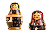 Matryoshka doll — Stock Photo